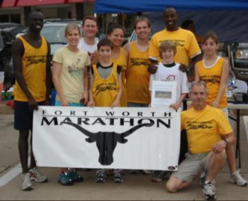 Fort Worth Marathon supports Run Like a Cheetah